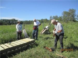 building a new boardwalk