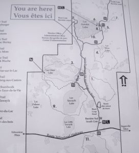 Elk Island map