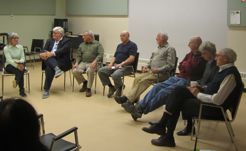 Waskahegan Trail Association panel of longtime members