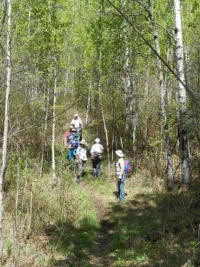 North Miquelon hikers