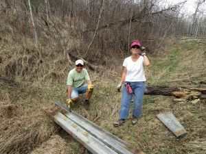 Adding a boardwalk on the Waskahegan Trail