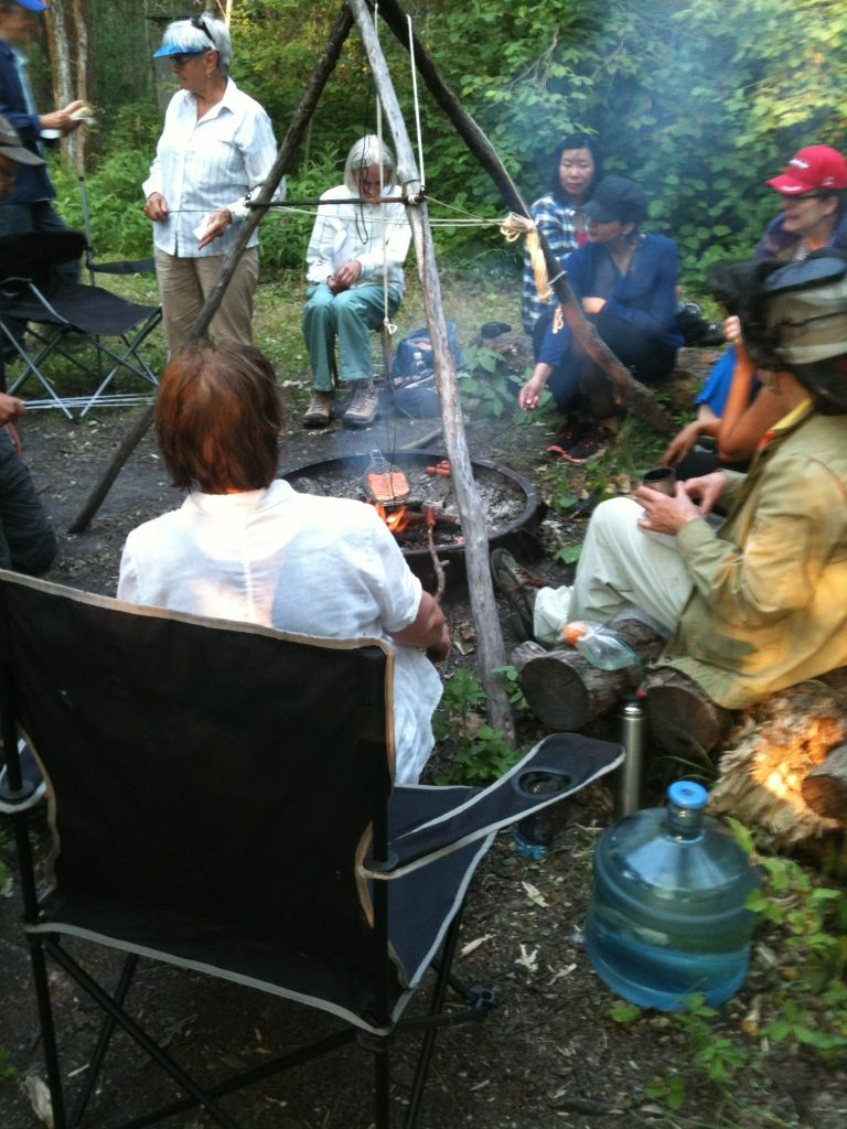 Wanisan Lake Stopover campfire