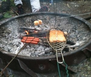 Wanisan Lake Stopover - campfire